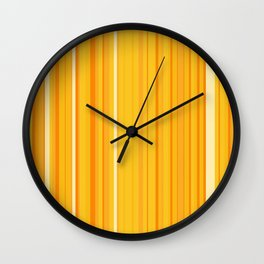 Stripe obsession color mode #8 Wall Clock