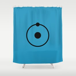 Dr Manhattan Shower Curtain
