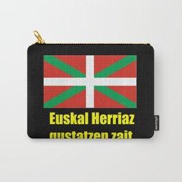 Flag of Euskal Herria 5 -Basque,Pays basque,Vasconia,pais vasco,Bayonne,Dax,Navarre,Bilbao,Pelote,sp Carry-All Pouch