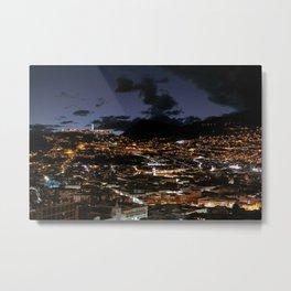 Cafe Mosaico Quito Ecuador Metal Print