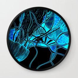 Lava Lamp Aquarium Wall Clock