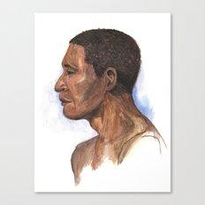 Portrait study 2 Canvas Print