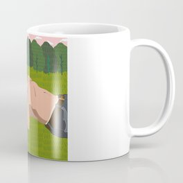 Sheep's Meadow Dreaming Coffee Mug