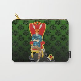The Irish hare on the throne Carry-All Pouch