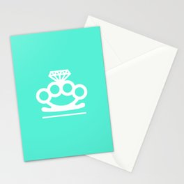 Bangin' Brass Knuckles Stationery Cards