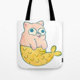 Meowmaid Tote Bag