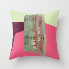 Tourmaline Gem Throw Pillow