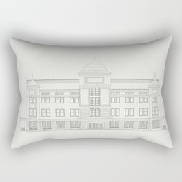 Real Estate, Building and Construction Logo Vector Design Rectangular Pillow