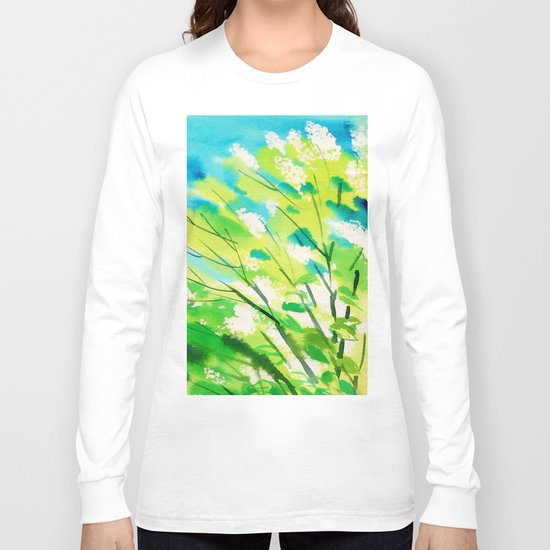 Tree in bloom ❤ Long Sleeve T-shirt