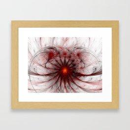 Crown of Thorns - Abstract Fractal Artwork Framed Art Print