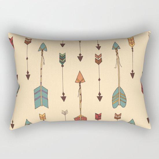 Vintage Tribal Arrows Rectangular Pillow
