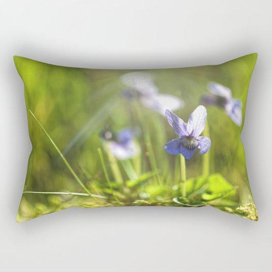 Sweet viola in LOVE Rectangular Pillow