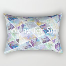 Looking for Signs Rectangular Pillow