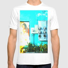 #KEY WEST POETRY by Jay Hops White Mens Fitted Tee MEDIUM