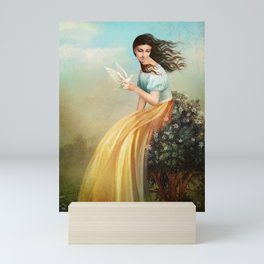 waiting for summer Mini Art Print