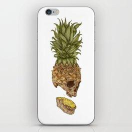 Pineapple Skull iPhone Skin