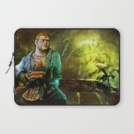 Dragon Age Varric Tethras Print Laptop Sleeve