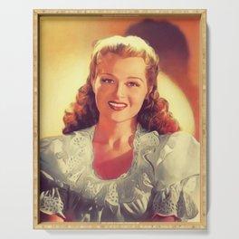 Jo Stafford, Vintage Singer Serving Tray