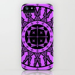 Ancestors (Black Lavender) iPhone Case