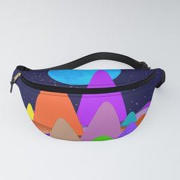 Fanciful Hills -1 Fanny Pack