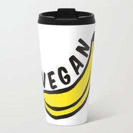 Vegan Badge of Honour - Banana ! Travel Mug