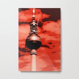 Pop Art Berlin Metal Print