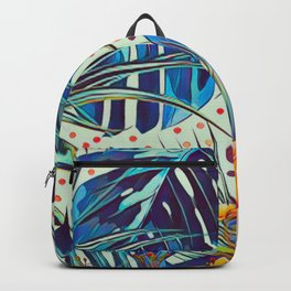 Floral foxy Backpack