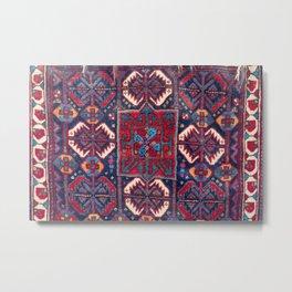 Khamseh  Antique Fars Persian Bag Face Metal Print