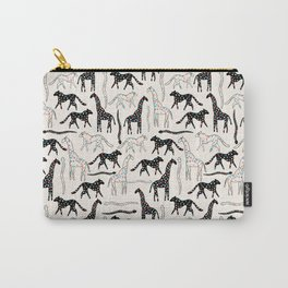 Safari Confetti Party Carry-All Pouch
