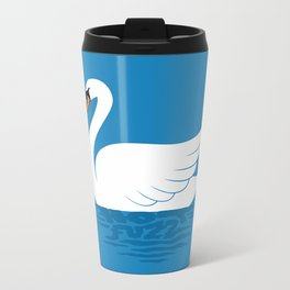 Just The One Swan Actually Metal Travel Mug