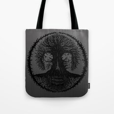 romkalah, black Tote Bag