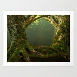 Forest Gates Art Print