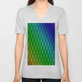 Colorandblack series 726 Unisex V-Neck