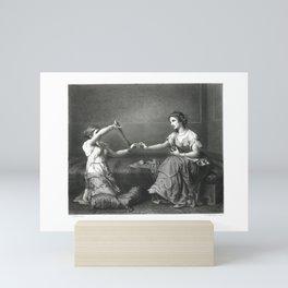 The Skein-Winder Mini Art Print