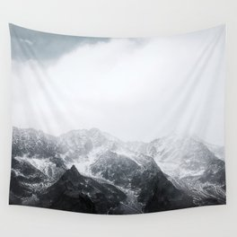 Morning in the Mountains - Nature Photography Wall Tapestry