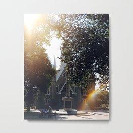 Sunshine & Stone Metal Print