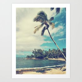 Vintage Tropics Art Print