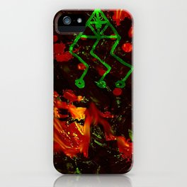 OPEN THE GATE iPhone Case