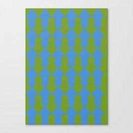 blue mainstream Canvas Print