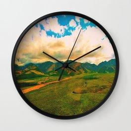 Alaskan Adventure  Wall Clock