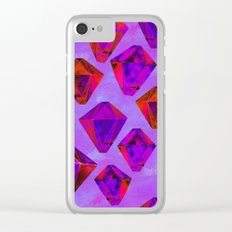 Fairy gems Clear iPhone Case
