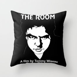The Room- Tommy Wiseau Throw Pillow