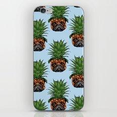 Pineapple Pug iPhone Skin