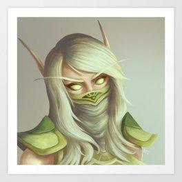 Blood Elf Art Print