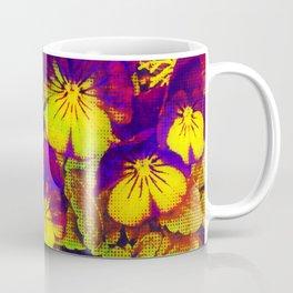 Pansies with Pizzaz Coffee Mug