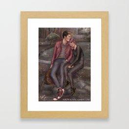 HeartRate - Minute Break Framed Art Print