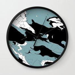 Earth and Sea Wall Clock