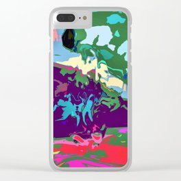 colorge feeling Clear iPhone Case