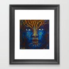 Mara Guardian Framed Art Print