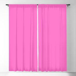 Neon Pink For Cute Girls Blackout Curtain